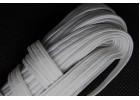 Резинка-продежка бельевая  8 мм. /шнур эластичный/плоская 8 мм., без наполнителя/