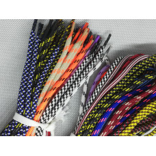 Шнурки обувные /для обуви/ ТИП 013 /круглые, с наполнителем/