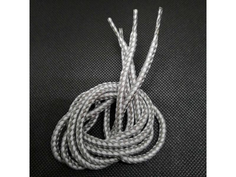 Шнурки обувные /для обуви/ ТИП 1  ХБ/160-50 (круглые, c наполнителем) ХЛОПКОВЫЕ