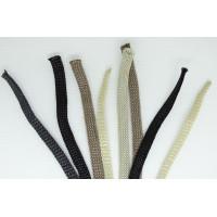 Шнурки обувные /для обуви/ ТИП Трикотажный (5 мм.) ВОСК /плоские/