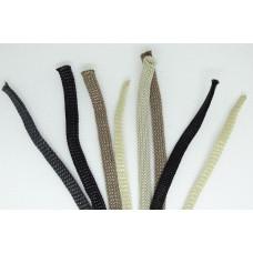 Шнуры обувные /для обуви/ ТИП Трикотажный (5 мм.) ВОСК /плоские/